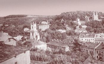 Historische Ansicht auf Buczacz