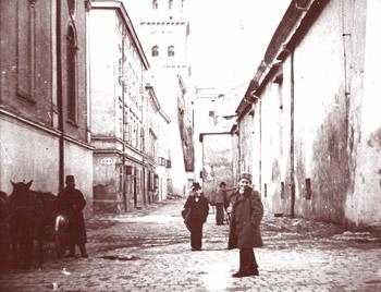 Jüdisches Viertel in Lemberg/Galizien