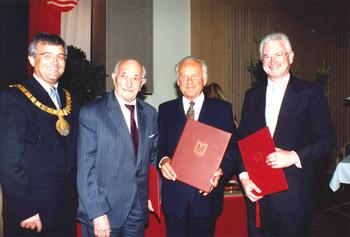 Verleihung des Ehrenringes